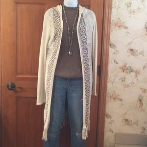 Maurices boho Duster vest